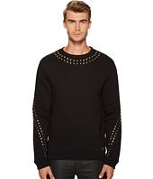 Versace Collection - Metallic X Applique Sweatshirt