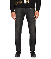 Versace Collection - X Applique Jeans in Washed Black