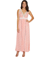 Brigitte Bailey - Danika Sleeveless Maxi Dress with Lace Detail