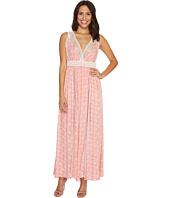 Brigitte Bailey - Danika Sleeveless Maxi Dress with Lace Detail