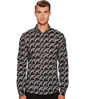 Versace Jeans - Tiger Print Button Down