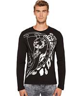 Versace Jeans - Metallic Logo Long Sleeve Tee