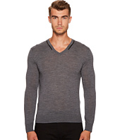 The Kooples - V-Neck Pullover with Piping
