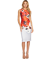 Adrianna Papell - Poppy Delight Midi Sheath Dress