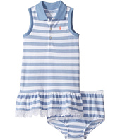 Ralph Lauren Baby - Stretch Mesh Slim Polo Dress (Infant)
