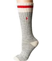 LAUREN Ralph Lauren - Marl Contrast Toe & Tipping Boot Sock