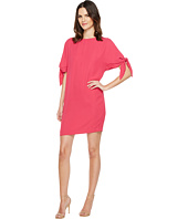 Vince Camuto - Crepe Knotted Sleeve Shift Dress