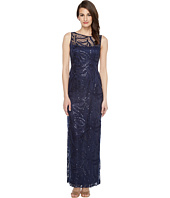 Tahari by ASL - Sequin Embroidered Gown