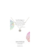 Dogeared - Maya Angelou: Love Life, Engage In It Necklace