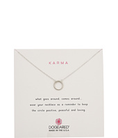Dogeared - Karma Smooth Retro Ring Necklace