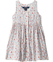 Polo Ralph Lauren Kids - Cotton Poplin Floral Dress (Toddler)