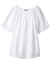 Polo Ralph Lauren Kids - Cotton Lace Hem Dress (Little Kids)