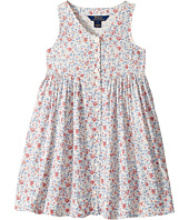 Polo Ralph Lauren Kids - Cotton Poplin Floral Dress (Little Kids)