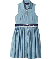 Polo Ralph Lauren Kids - Chambray Shirtdress (Little Kids)