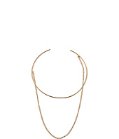 Steve Madden - Open Collar with Chain Choker Necklace