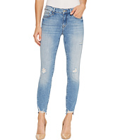 Mavi Jeans - Adriana Mid-Rise Super Skinny Ankle in Light Destructed Vintage