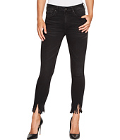 Mavi Jeans - Tess High-Rise Super Skinny Ankle in Smoke Fringe