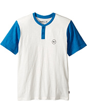 O'Neill Kids - The Bay Short Sleeve Henley (Big Kids)