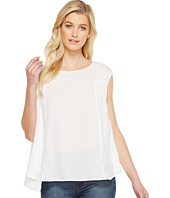 HEATHER - Twill Voile Baby Doll Top