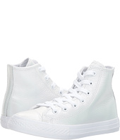 Converse Kids - Chuck Taylor All Star Iridescent Leather - Hi (Little Kid)