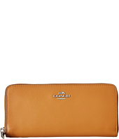 COACH - Smooth Leather Small Accordian Zip