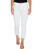 Ivanka Trump - Denim Rolled Crop Jeans in White
