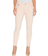Ivanka Trump - Denim Skinny Ankle Jeans in Blush