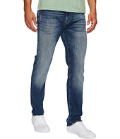 Mavi Jeans - Marcus Regular Rise Slim Straight in Mid Destroyed Authentic Vintage