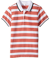 Burberry Kids - Stripe Polo (Little Kids/Big Kids)