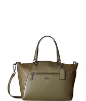 COACH - Mixed Leather Prairie Satchel