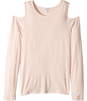 Splendid Littles - Long Sleeve Cold Shoulder Top (Big Kids)
