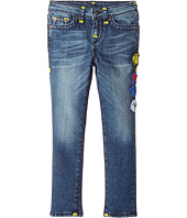 True Religion Kids - Tony Jeans with Patches in Rustic Indigo (Toddler/Little Kids)
