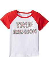 True Religion Kids - Raglan T-Shirt (Toddler/Little Kids)