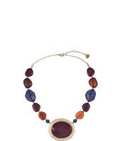 The Sak - Bead Stone Collar Necklace 16