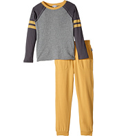 Splendid Littles - Long Sleeve Football Tee and Pants Set (Little Kids/Big Kids)