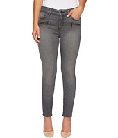 NYDJ Petite - Petite Alina Legging Jeans w/ Zippers in Future Fit Denim in Alchemy
