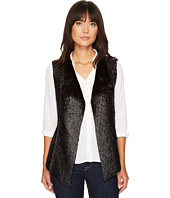 NYDJ - Coated Faux Fur Vest