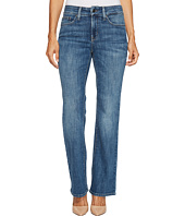 NYDJ Petite - Petite Barbara Bootcut Jeans in Crosshatch Denim in Newton