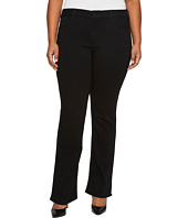 NYDJ Plus Size - Plus Size Barbara Bootcut Jeans in Luxury Touch Denim in Black