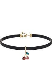 Kate Spade New York - Ma Cherie Cherry Choker Necklace