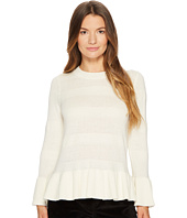 Kate Spade New York - Textured Bell Sleeve Sweater
