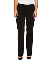 NYDJ Petite - Petite Ponte Trouser Pants in Black