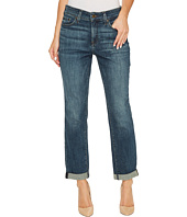 NYDJ - Boyfriend Jeans in Crosshatch Denim in Desert Gold