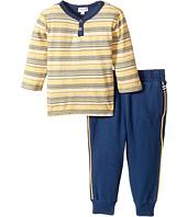 Splendid Littles - Striped Henley Shirt and Pants Set (Infant)