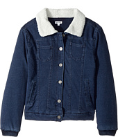 Splendid Littles - Baby French Terry Sherpa Jacket (Big Kids)