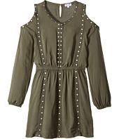 Splendid Littles - Grommet Cold Shoulder Dress (Big Kids)