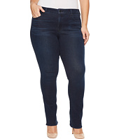 NYDJ Plus Size - Plus Size Marilyn Straight Jeans in Smart Embrace Denim in Morgan