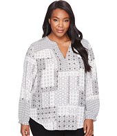 NYDJ Plus Size - Plus Size Peasant Top