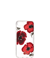 Kate Spade New York - Jeweled Poppy Clear Phone Case for iPhone® 7/iPhone® 8