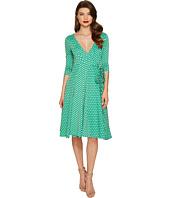 Unique Vintage - 3/4 Sleeve Kelsie Wrap Dress